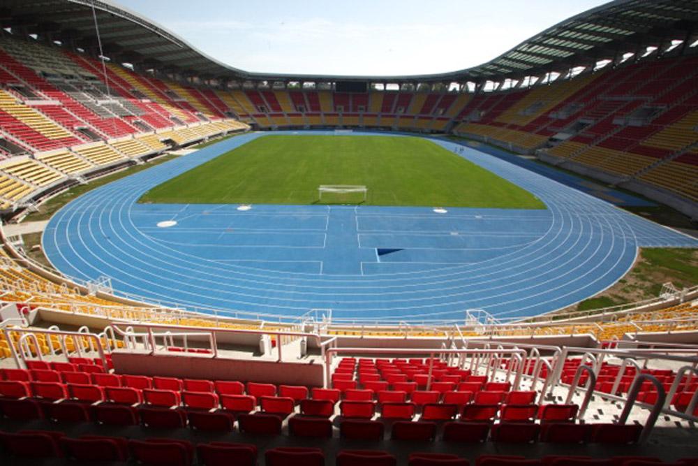 Ugradnja atletske staze u Skoplju koja je dobila sertifikat najviseg kvaliteta IAAF CLASS I