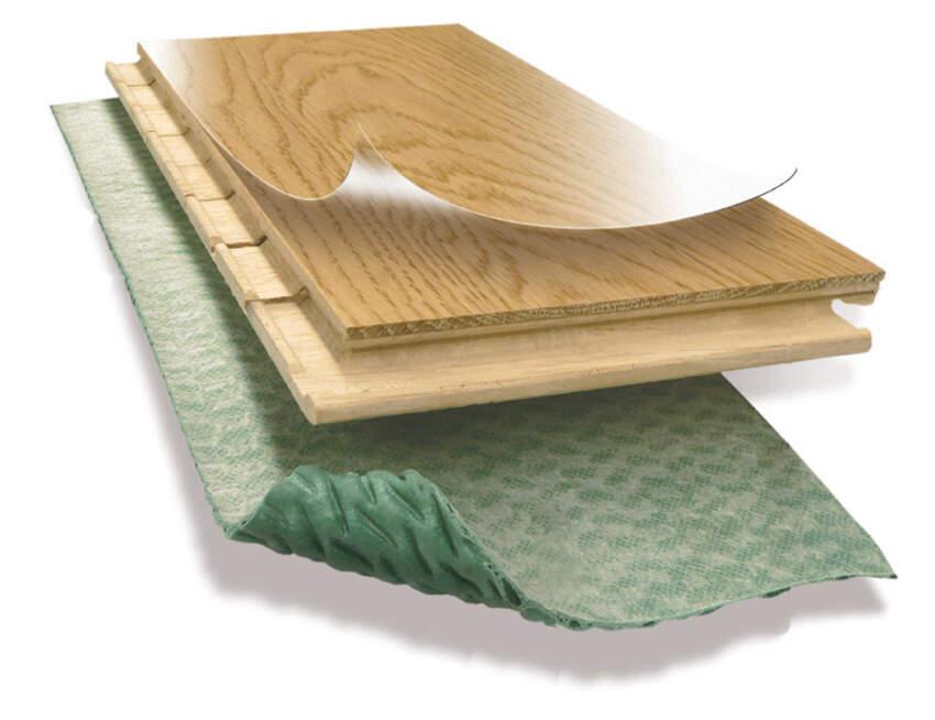 Kao najefikasnija zaštita od neželjenog prenosa zvuka primenjuju se tzv. plivajući podovi