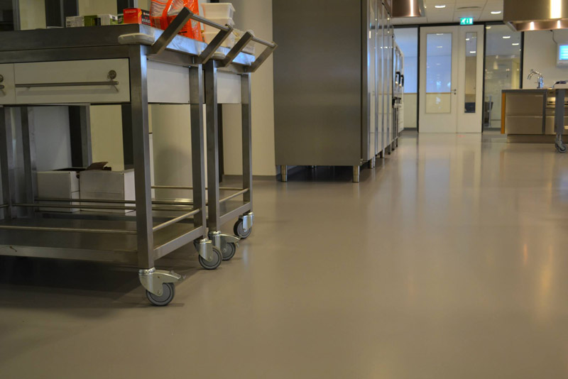 Specijalni premazi čine ove podove antistatičkim i otpornim na visoke temperature