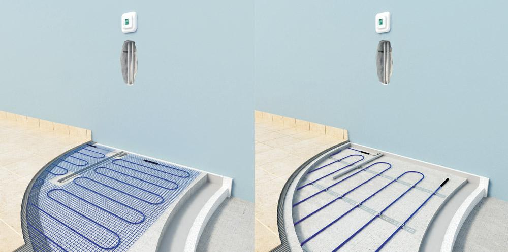 Sistemi podnog grejanja Vam daju mogućnost ugradnje ekoloških i zdravih podova