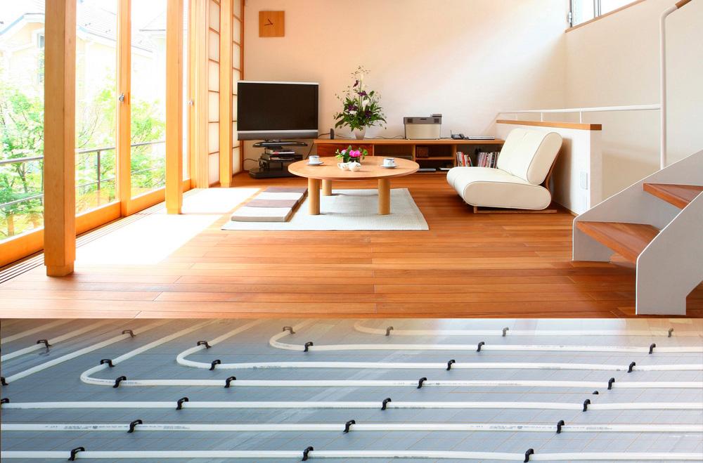 Podno grejanje je sistem gde kao grejno telo služi čitava površina poda