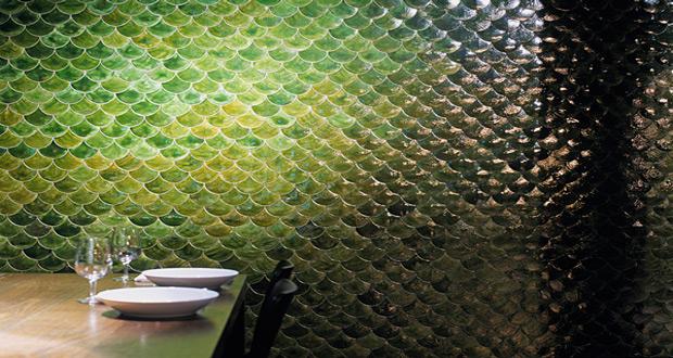 Zidne pločice riblja krljušt