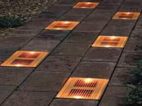 Izgled solarne staze u večernjim satima