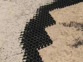 Izgled saćaste strukture Ekviter podloge