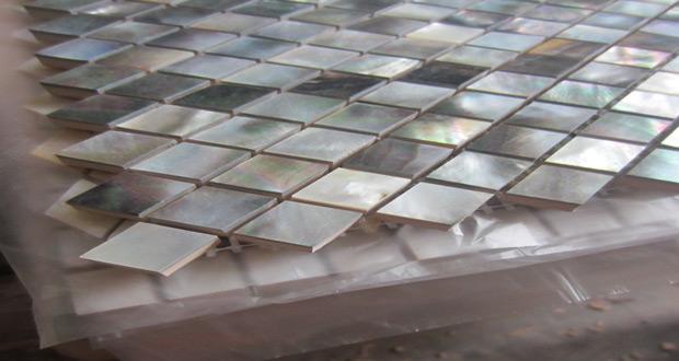 Mozaik od školjki