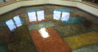Izgled reflektujućeg poda