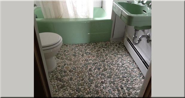 Neobičan pod u kupatilu