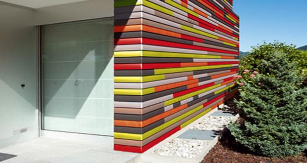 Zid od ekstrudiranih pločica