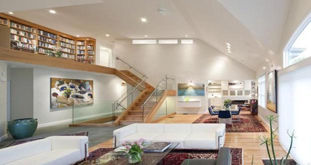 Izgled prostorije sa orijentalnim tepihom