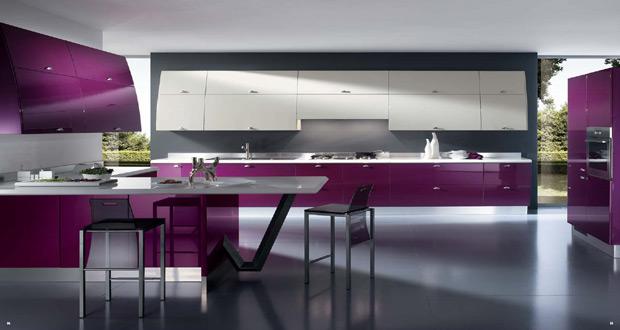 Dizajn kuhinja sa podovima od linoleuma
