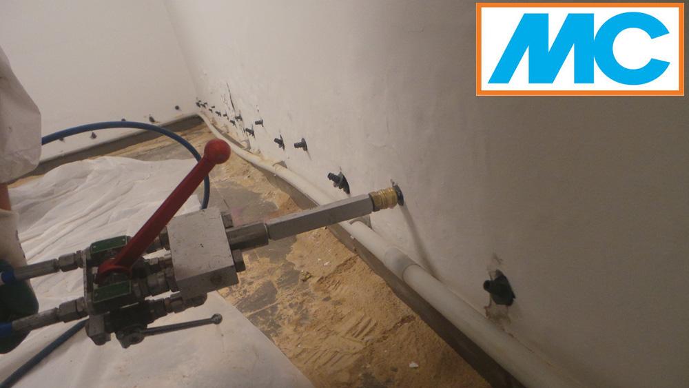 Injektiranje je tehnologija kojom se rešavaju problemi prodora kapilarne vlage i vode kroz konstrukciju