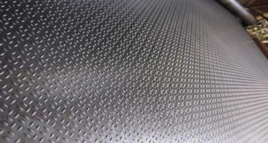 Izgled valjanog gumeng poda izbliza
