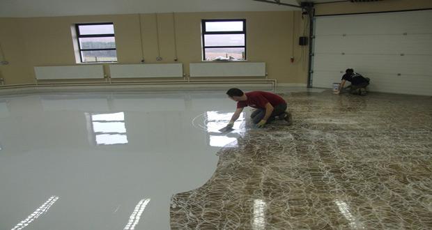 Radovi na izvođenju industrijskog poda