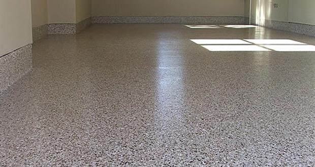 Zumirani izgled industrijskog poda