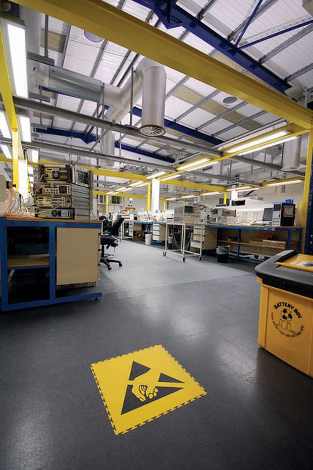 Ecotile industrijske podne ploče su idealne za skladišta