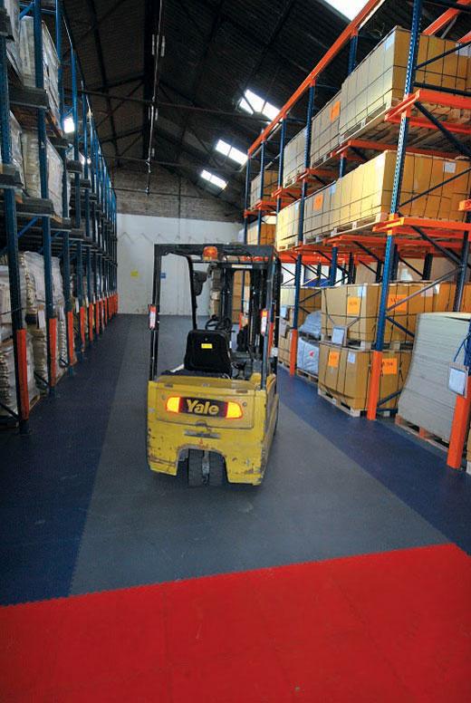 Ecotile industrijske podne ploče su idealne za industrijske prostore