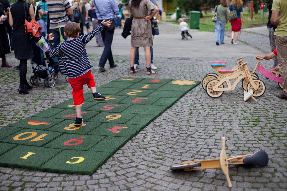 Igralište od reciklirane gume