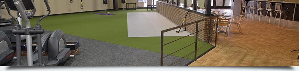Izgled poda od reciklirane gume namenjenog u komercijalne svrhe