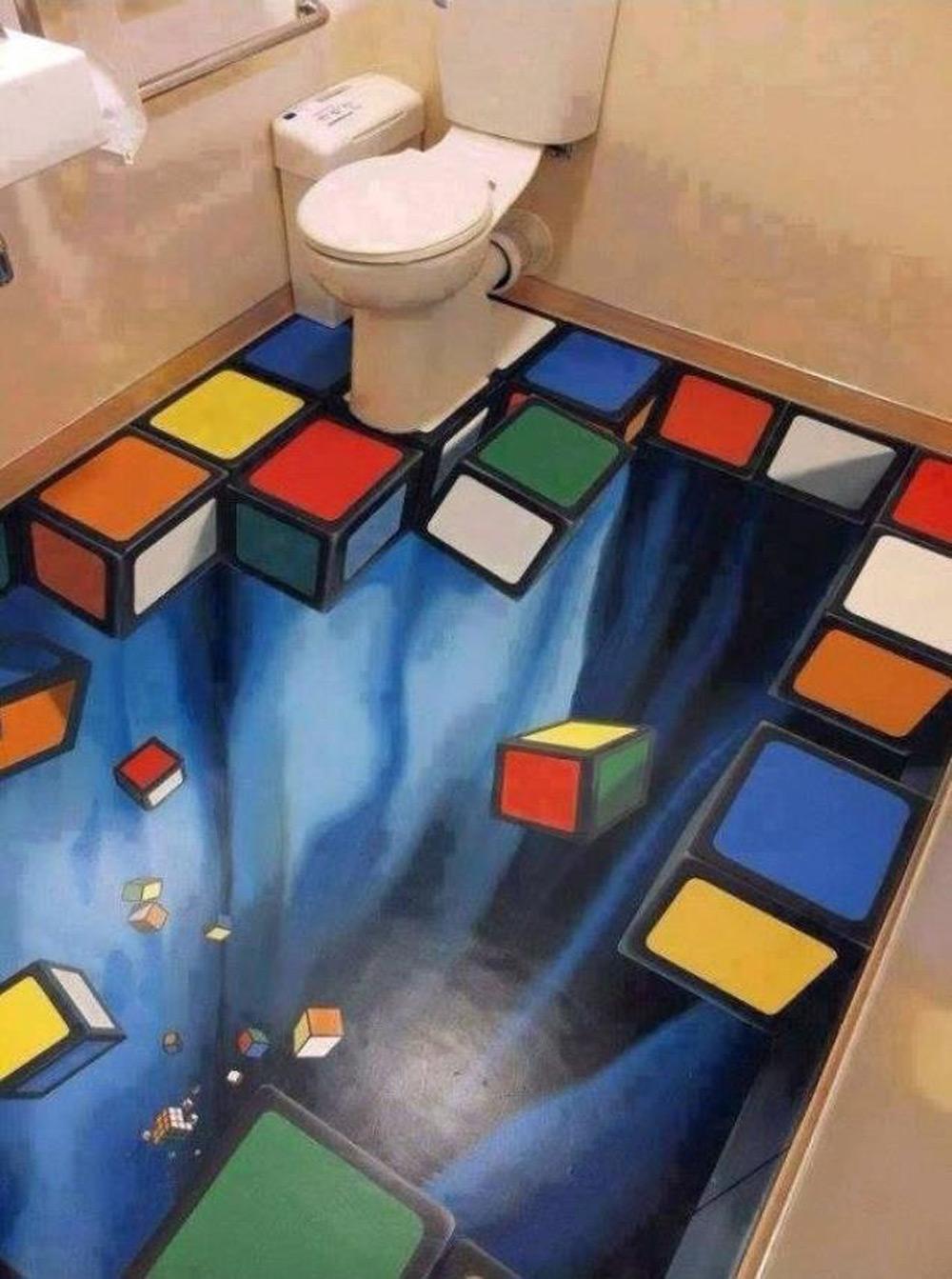 3D umetnost na podu