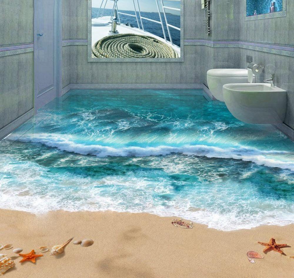 3D dizajn poda u kupatilu