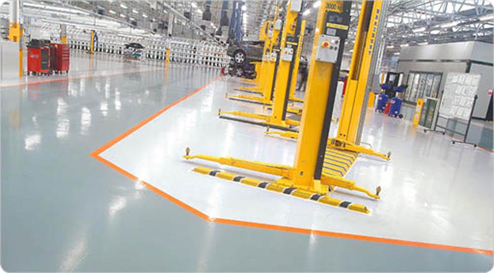 Kvalitetni podovi u iindustrijskim postrojenjima