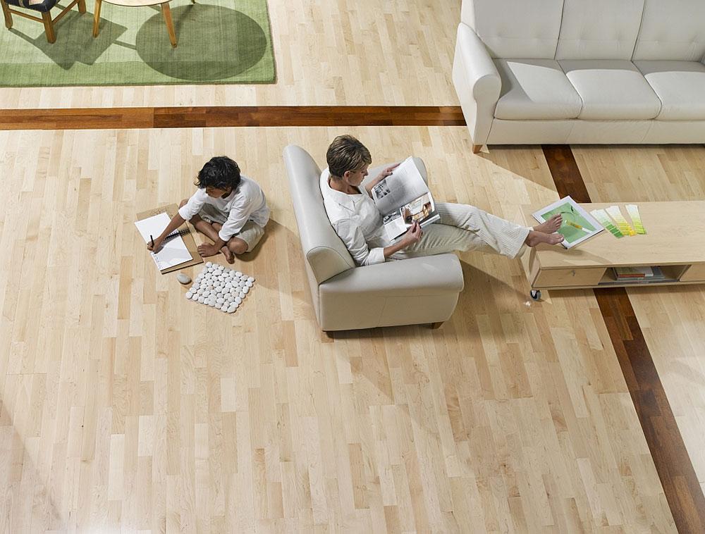 Podne obloge za moderne prostorije
