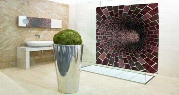 Mozaik pločice sa atraktivnomm slikom