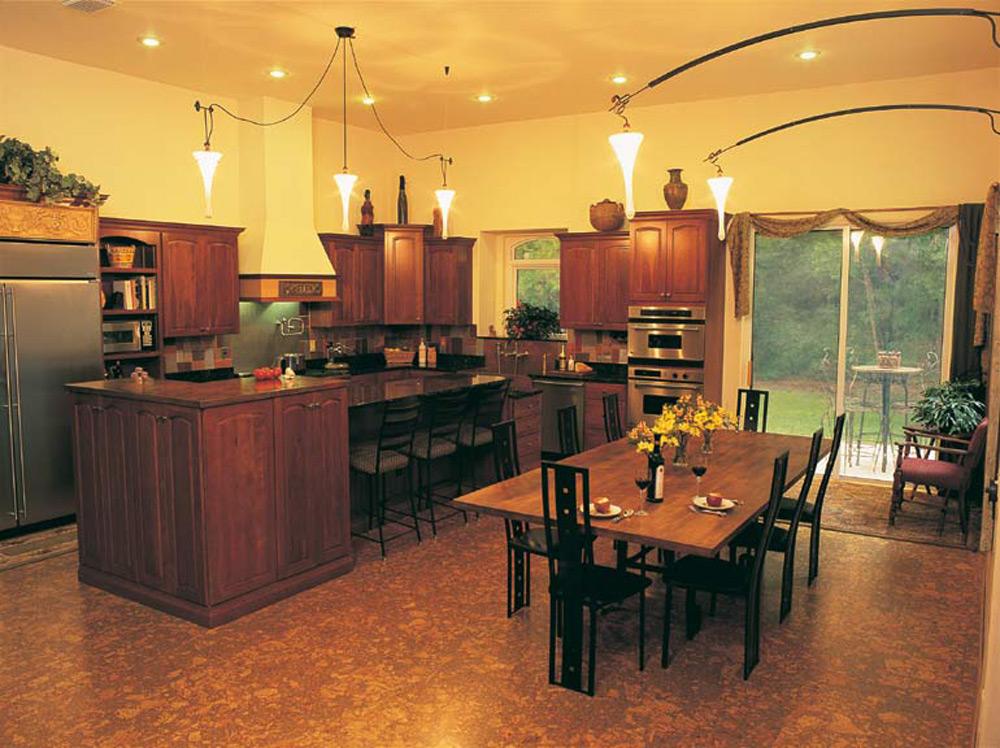 Moderan pod od plute u kuhinji
