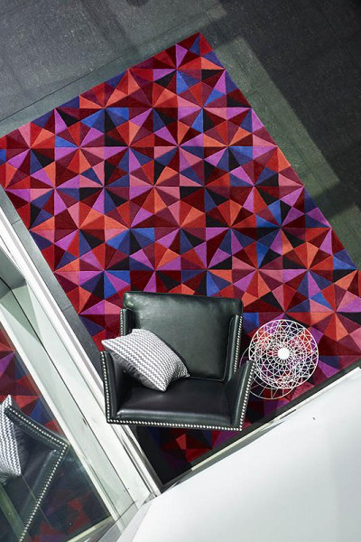 Moderan dizajn tepiha