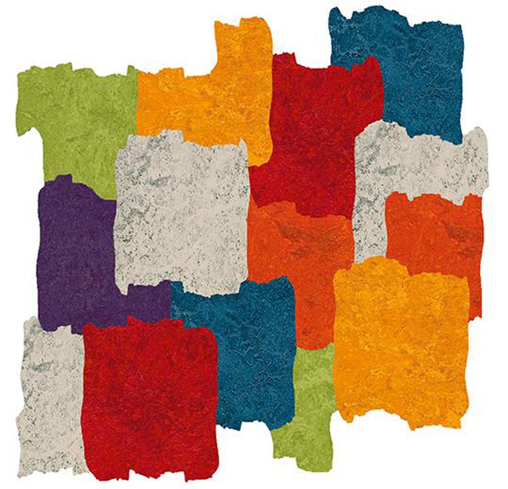 Mendini dizajn jarkih boja