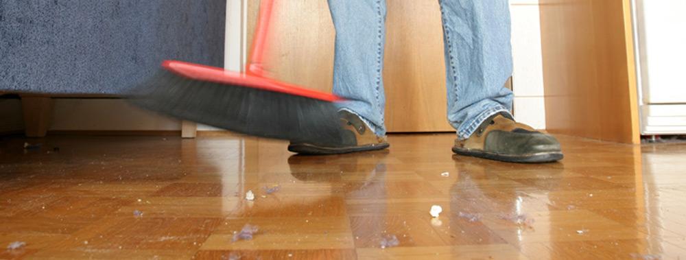 Redovno čišćenje metlom