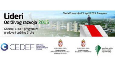 Lideri održivog razvoja - Treća konvencija 21 april 2015, Zrenjanin
