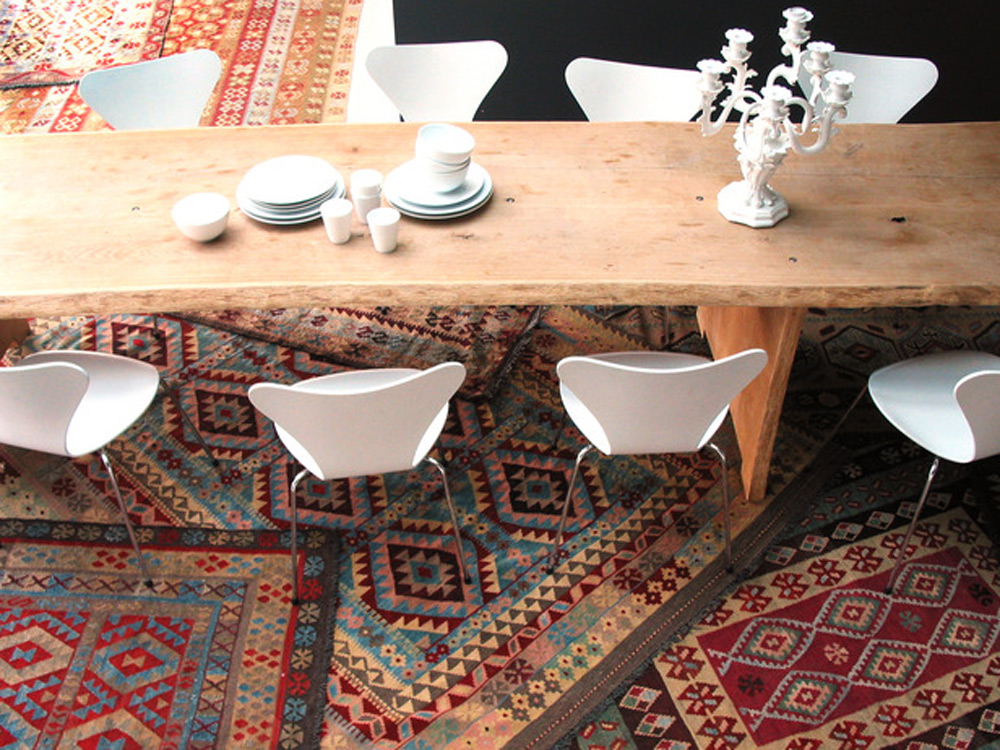 Slojeviti izgled tepiha