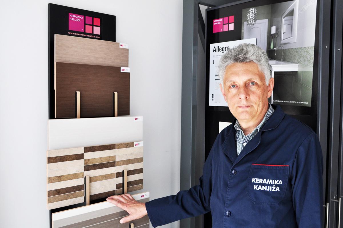Đorđe Aleksić - direktor proizvodnje Keramike Kanjiža