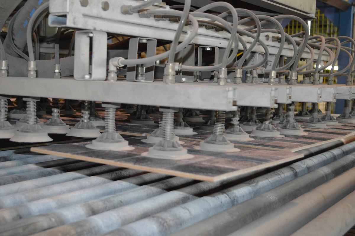 Proces proizvodnje keramičkih pločica