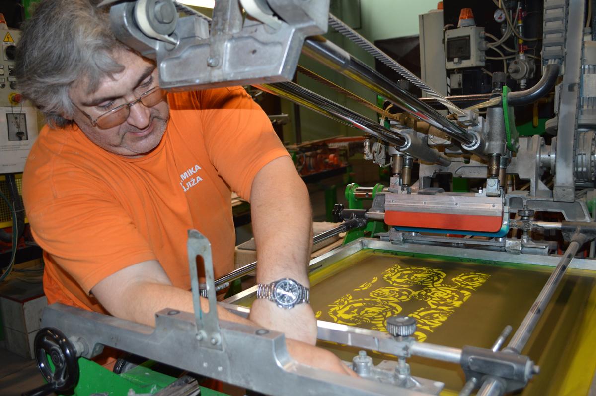 Proces proizvodnje dekora i listela