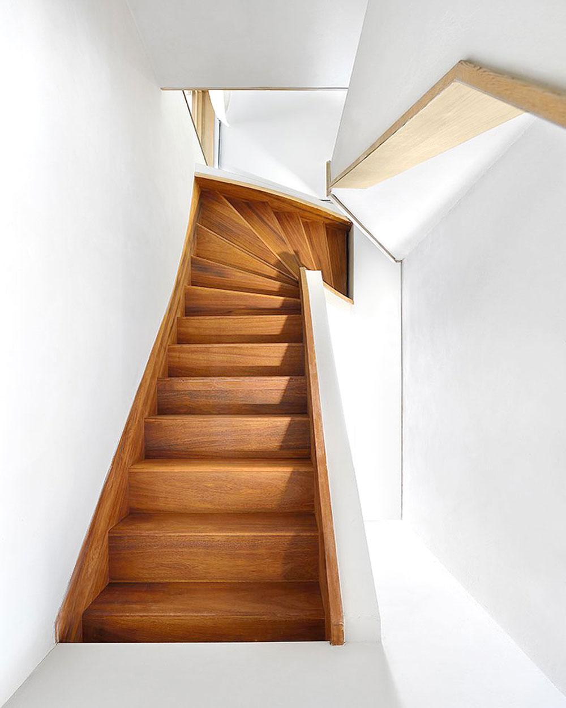 Drvene stepenice su veoma česte u domovima