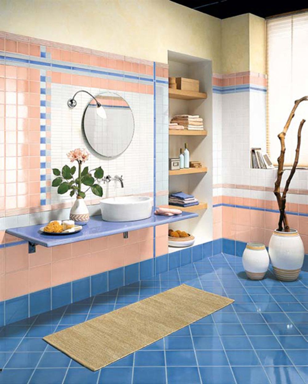 Uređenje kupatila - vintage keramičke pločice