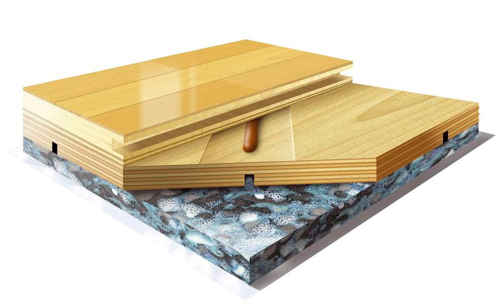 Drveni sportski podovi