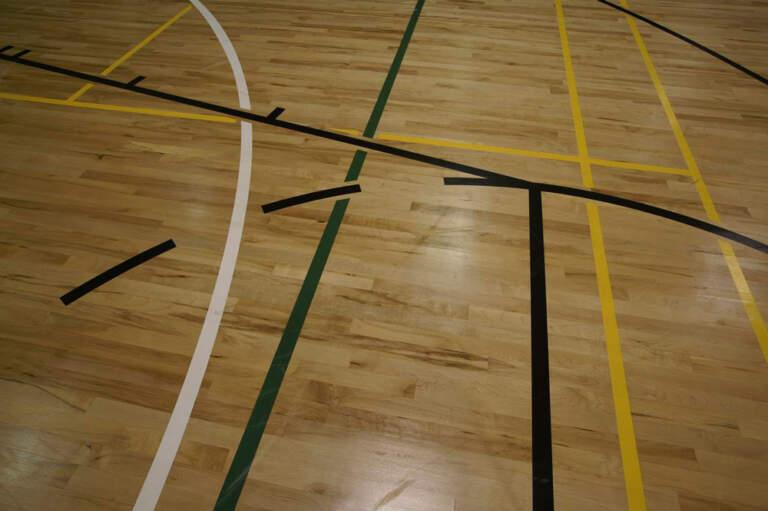 Umreženi podni sistem sportskih podova