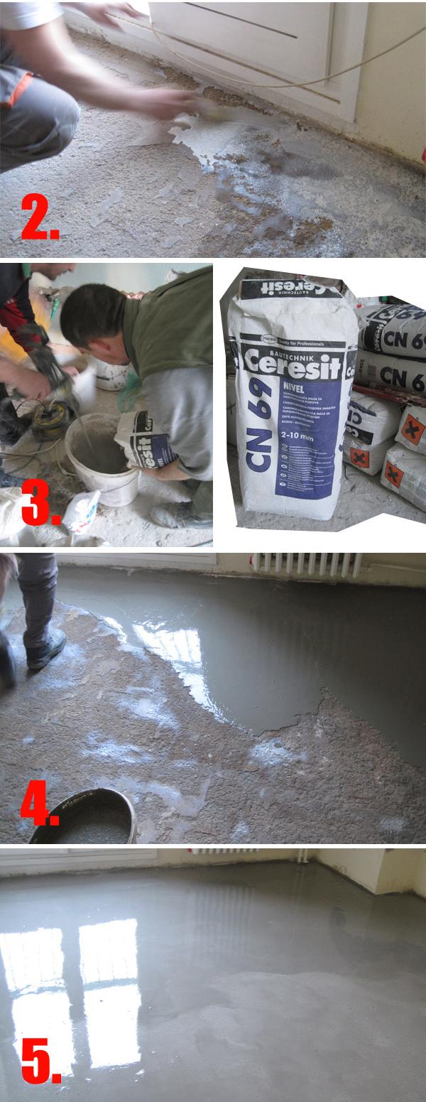 Materijal se pakuje u džakove od 20 ili 25 kg u zavisnosti od proizvođača