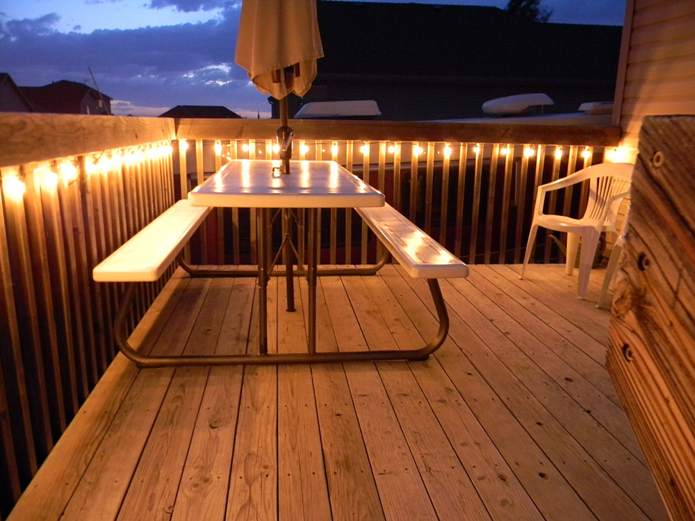 Drvena podna obloga za terase deking