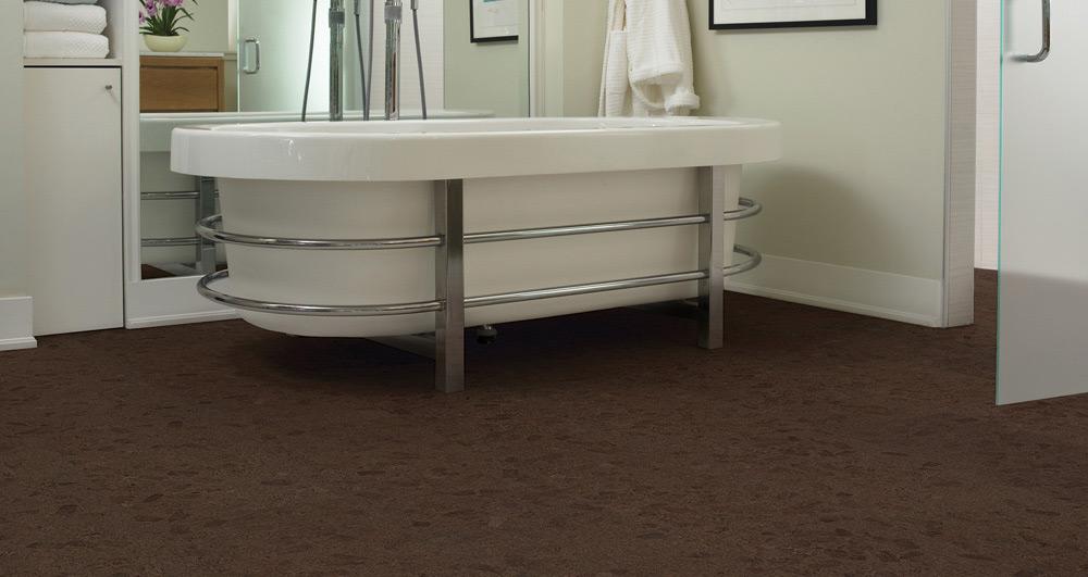 Podovi od plute idealni su kao pod u kupatilu