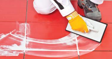 Reparacija spojnica poda
