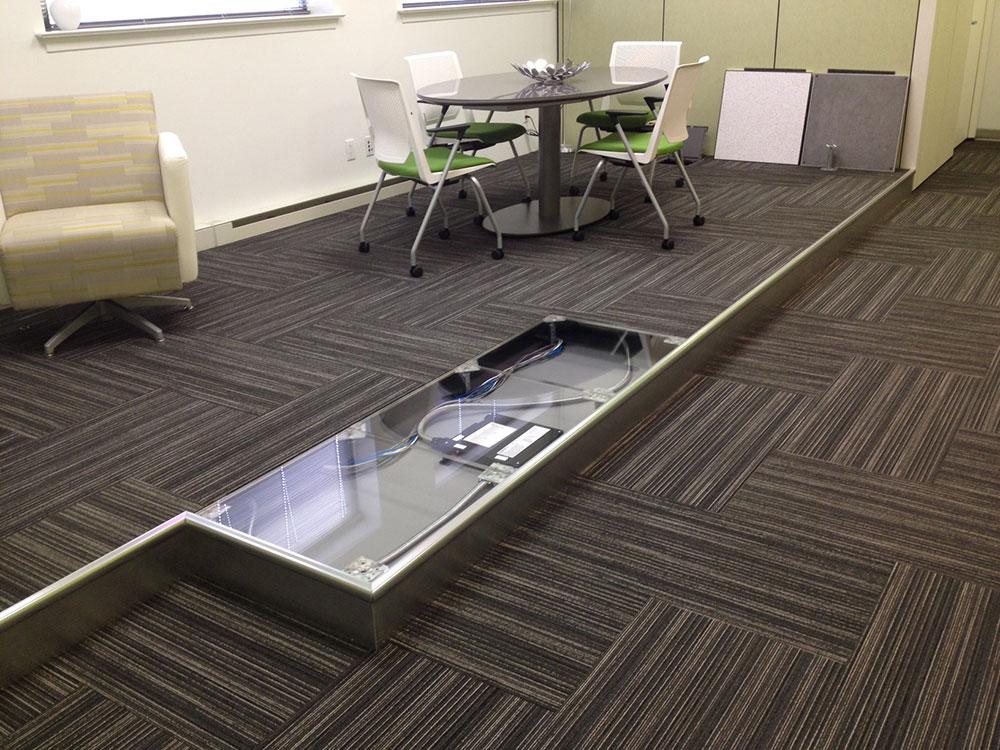 Izdignuti pod je idealna suva i laka podna konstrukcija
