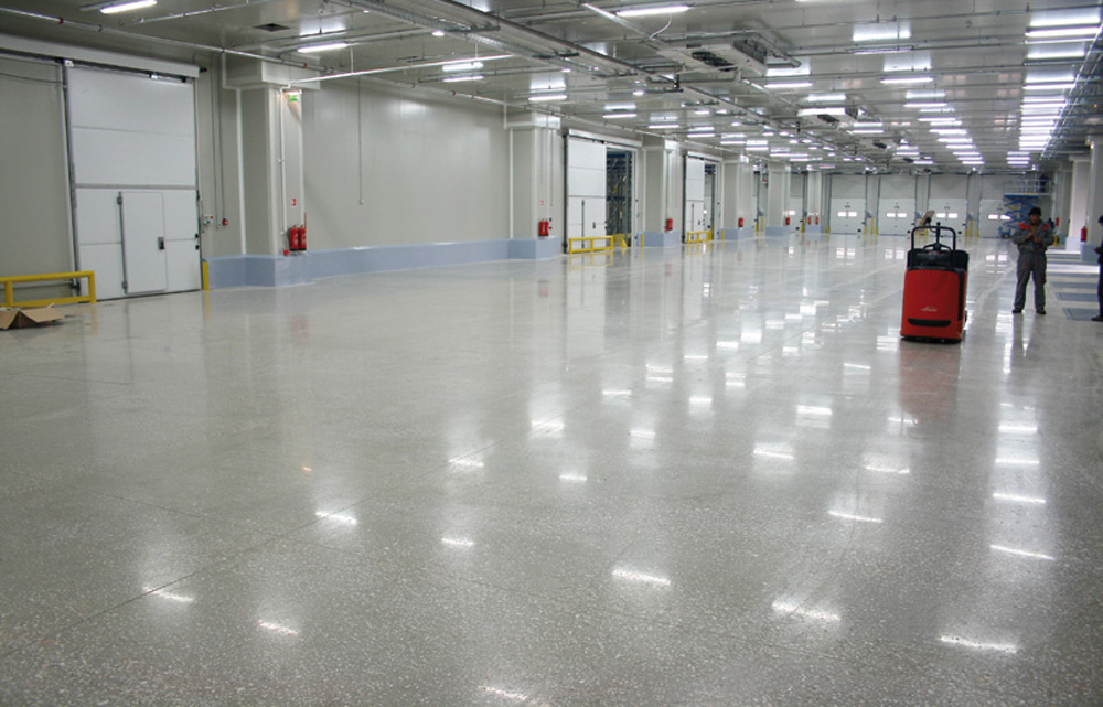 Polirani beton u industrijskim halama