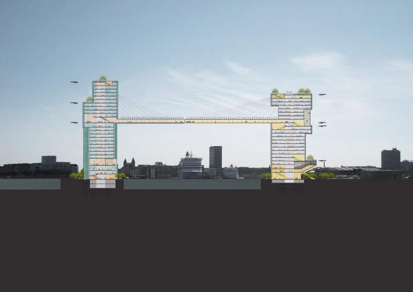 Projekat je na konkursu za revitalizaciju horizonta Kopenhagena pobedio jos 2008