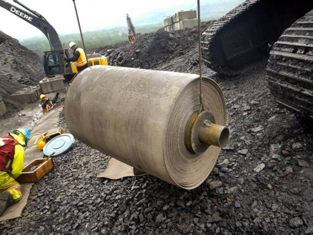 Rolna betonskog platna