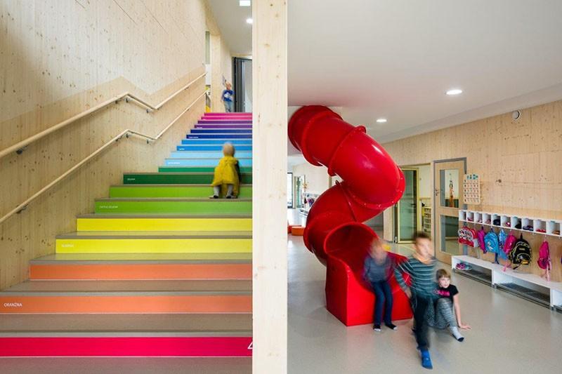 Vrtić u Sloveniji dobio je kreativno rešenje koje će pomoći deci da uče kroz igru