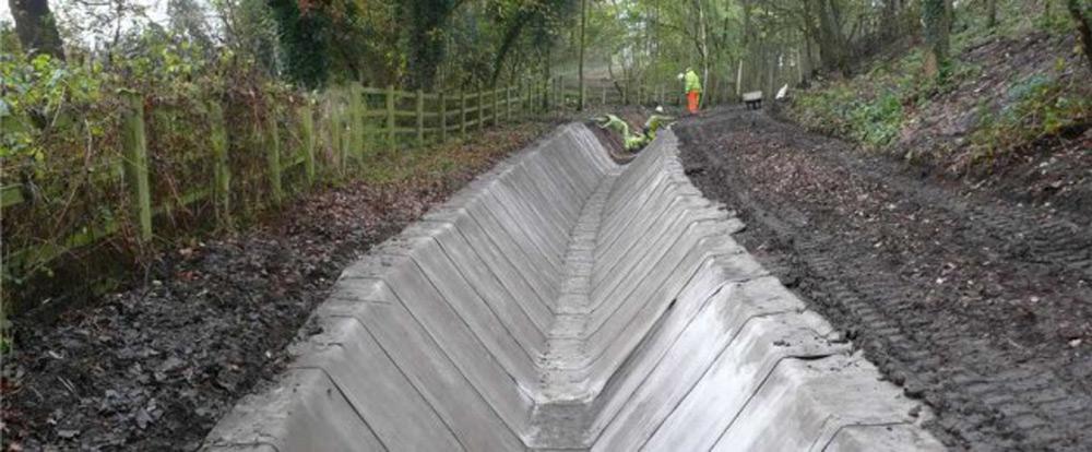 Ugradnja betonskog platna
